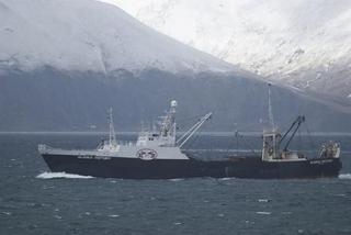 Factory trawler disabled near akutan for Fishing company of alaska